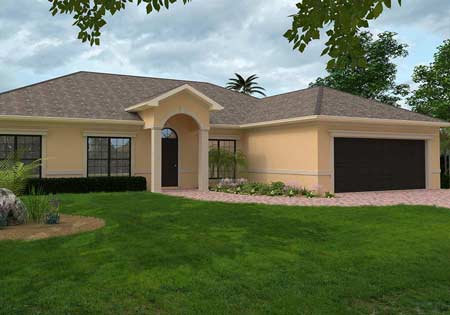 The Springfield custom home in Port St Lucie Florida
